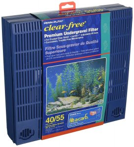 Undergravel fish tank filter