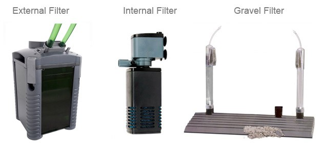 Choose the best fish tank filter external filters Types of aquarium filters